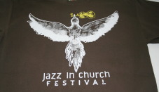 Festival de jazz printat serigrafic